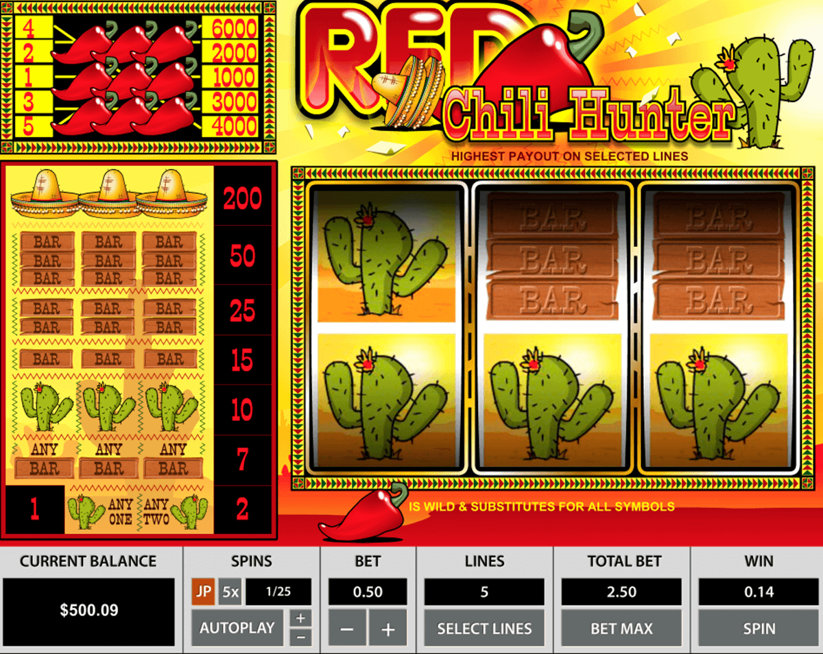 Red Chili Hunter Slot Machine Online ᐈ Pragmatic Play™ Casino Slots