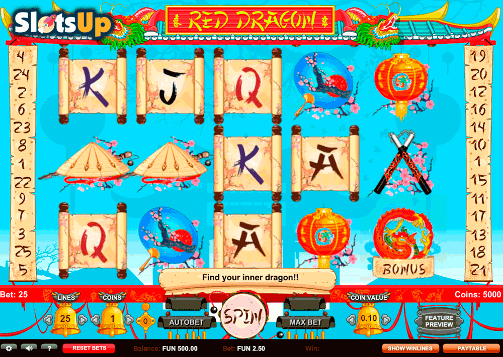 red dragon slots 27 way