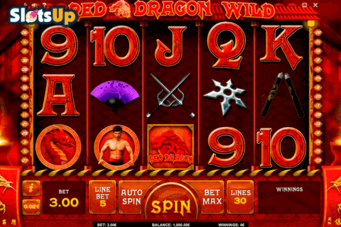 RED DRAGON WILD ISOFTBET CASINO SLOTS