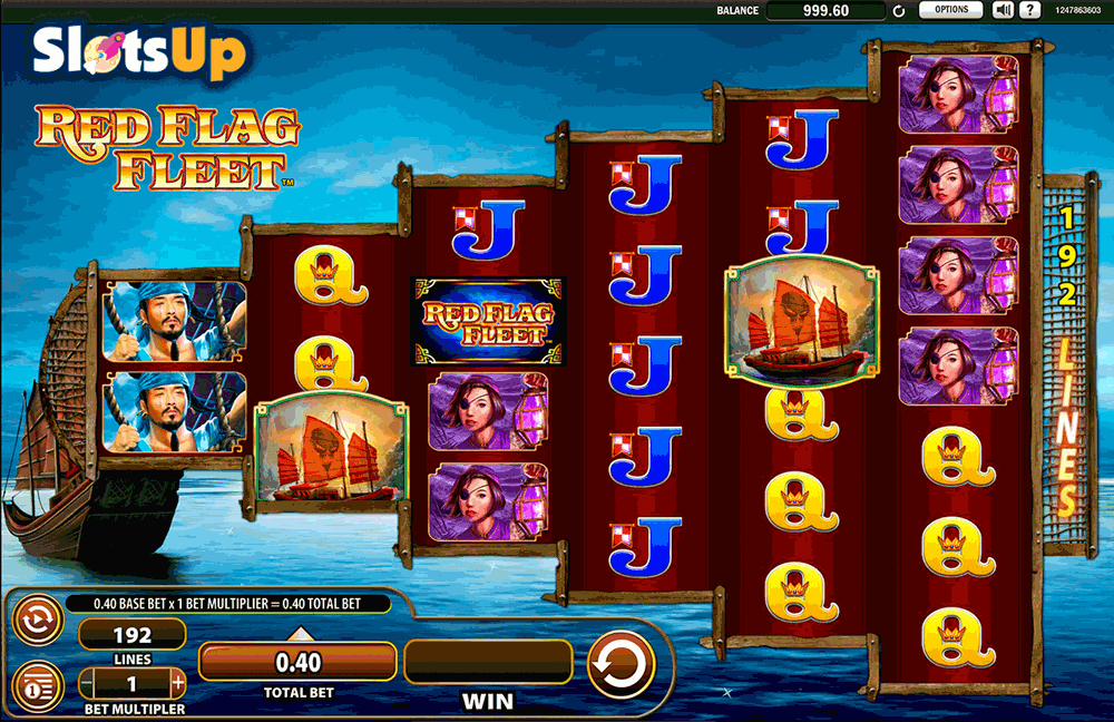 Red Flag Fleet Slot Machine - WMS Gaming Slots for Real Money
