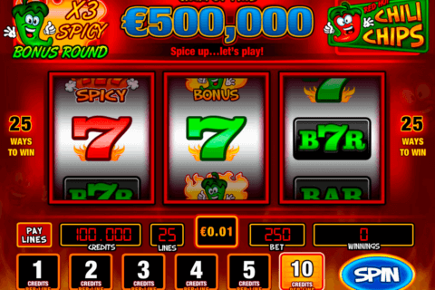 red hot chili chpis pariplay slot machine