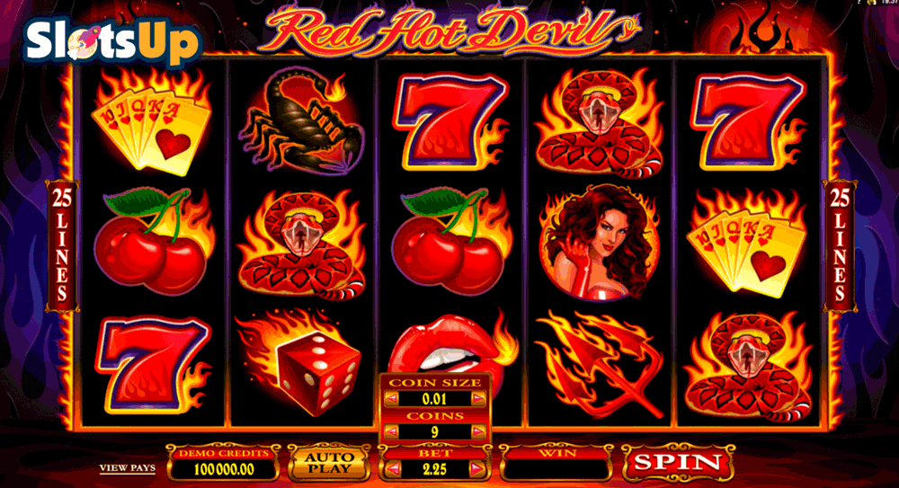 RED HOT DEVIL MICROGAMING CASINO SLOTS