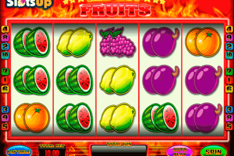 RED HOT FRUITS BLUEPRINT CASINO SLOTS