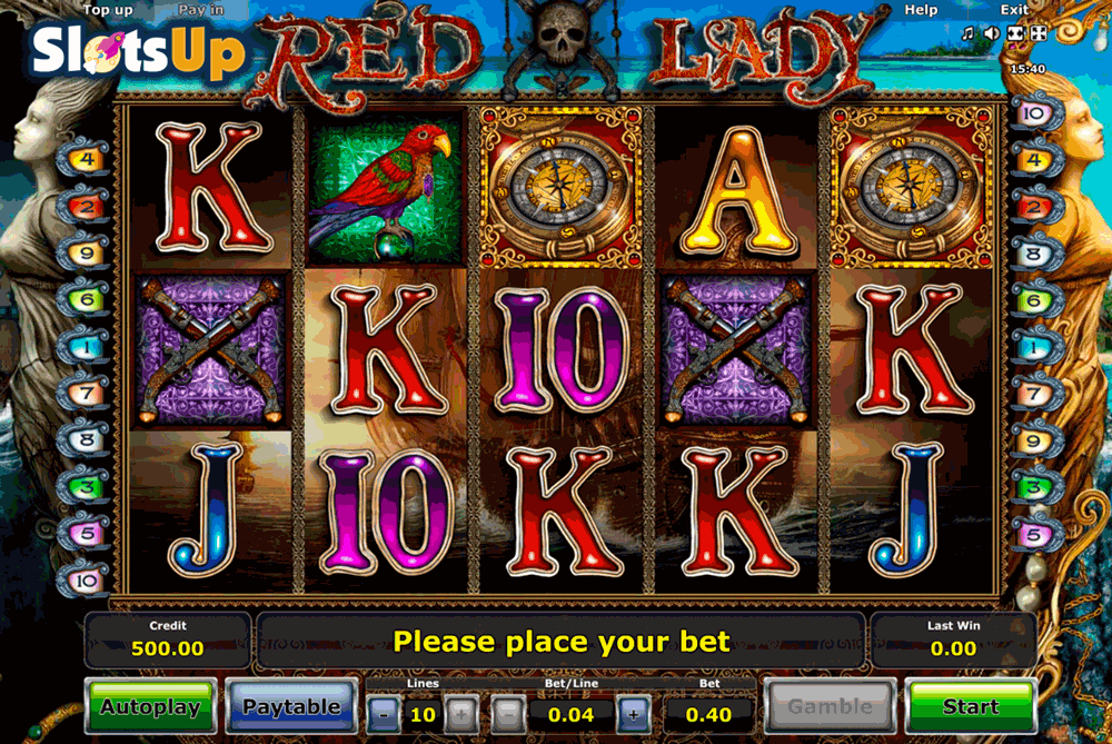 Lady In Red™ Slot Machine Game to Play Free in Microgamings Online Casinos