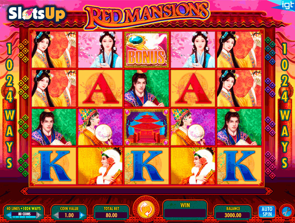 red mansions igt casino slots