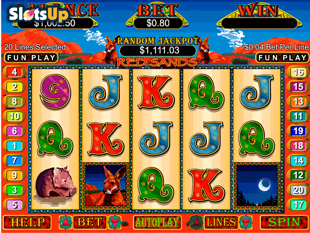 RED SANDS RTG CASINO SLOTS