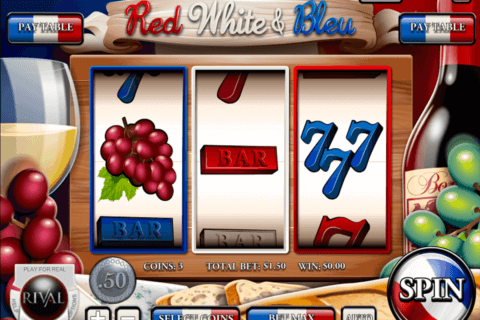 RED WHITE BLEU RIVAL CASINO SLOTS