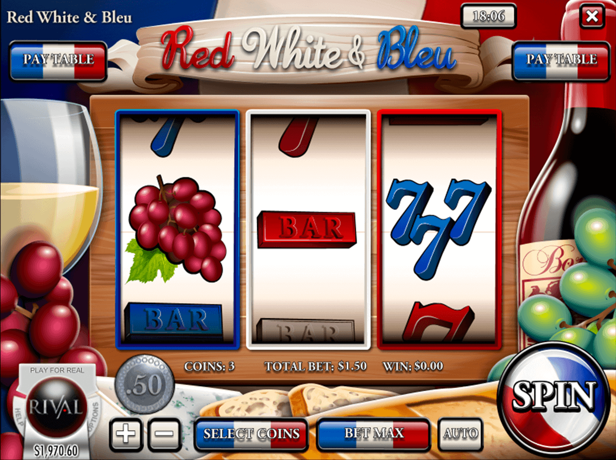 Red, White & Bleu Slot Machine Online ᐈ Rival™ Casino Slots