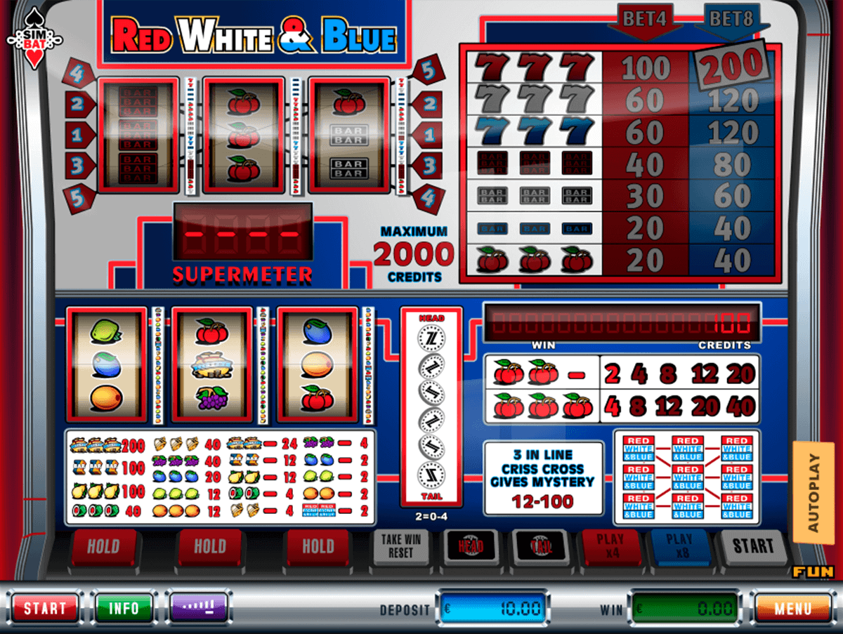 Red White Blue Slot Machine Online ᐈ Pragmatic Play™ Casino Slots