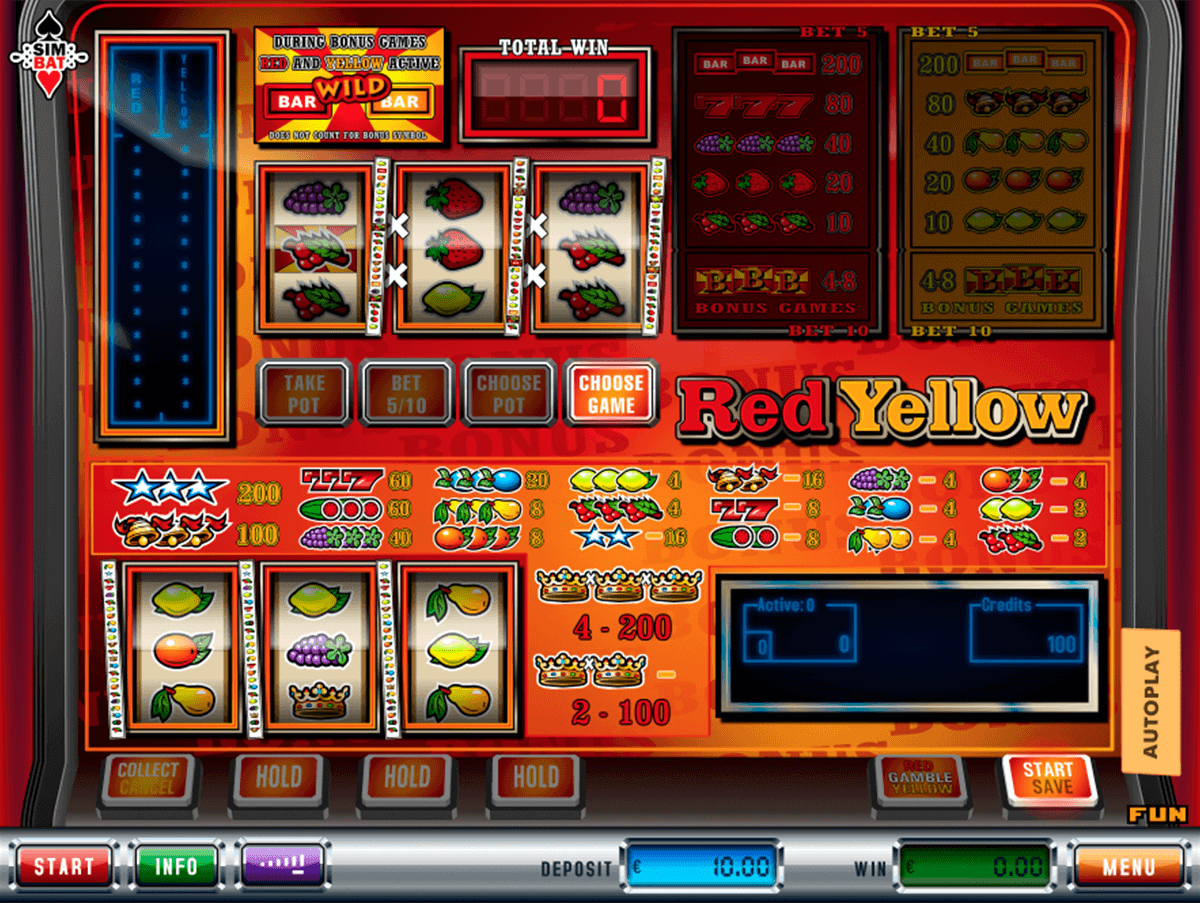 Red Yellow Slot Machine Online ᐈ Simbat™ Casino Slots