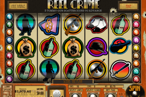 reel crime bank heist rival casino slots