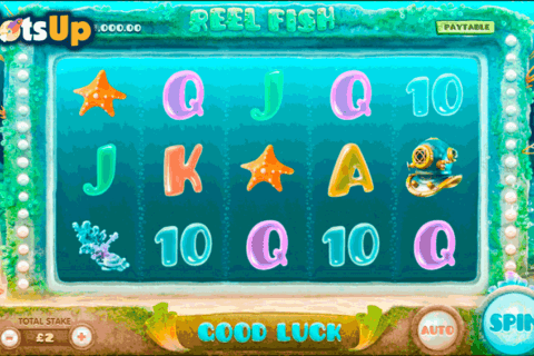 reel fish cayetano casino slots