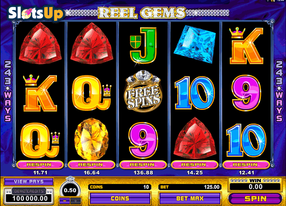 REEL GEMS MICROGAMING CASINO SLOTS