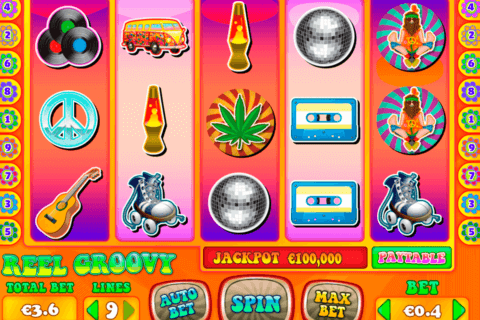 REEL GROOVY PARIPLAY SLOT MACHINE