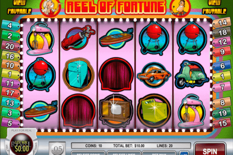 reel of fortune rival casino slots