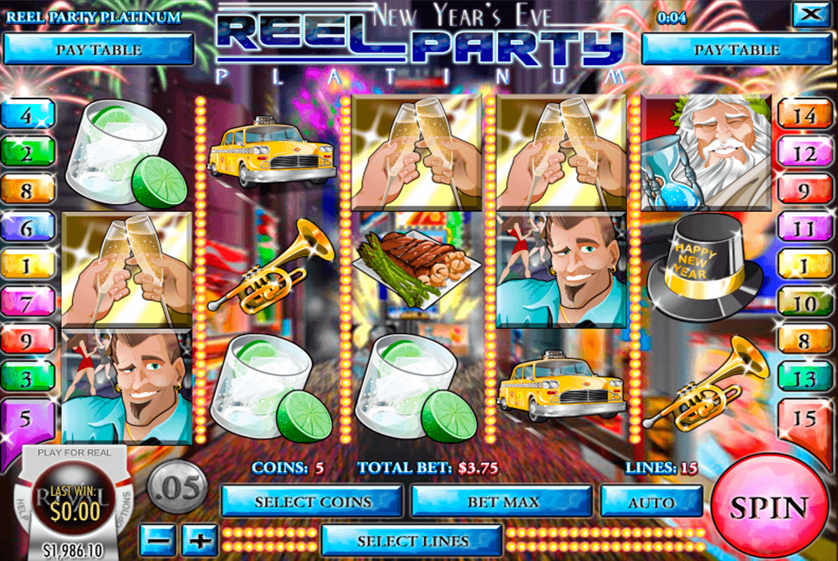 REEL PARTY PLATINUM RIVAL CASINO SLOTS