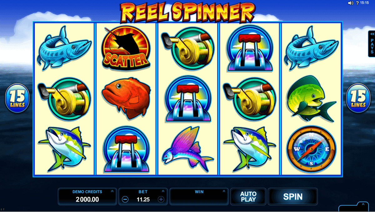 REEL SPINNER MICROGAMING CASINO SLOTS