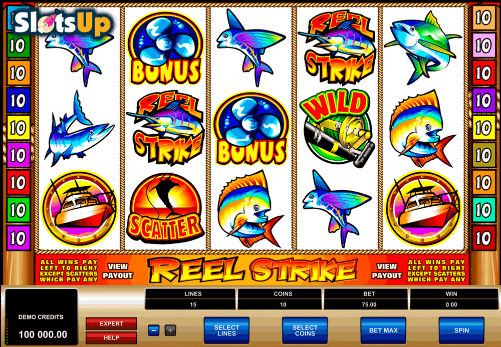 reel strike microgaming casino slots