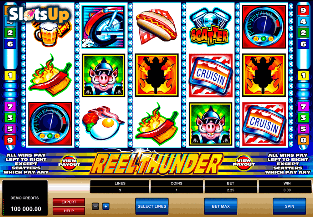 Thunder Reels Slot Machine Online ᐈ Playson™ Casino Slots