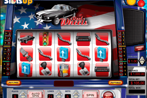 REEL WHEELS VISTA GAMING CASINO SLOTS