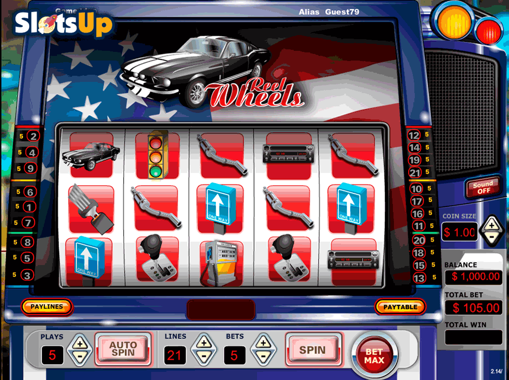 Reel Wheels Slots - Play Free Vista Gaming Slot Games Online