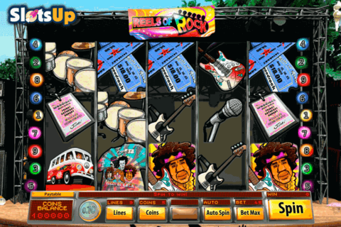 REELS OF ROCK SAUCIFY CASINO SLOTS