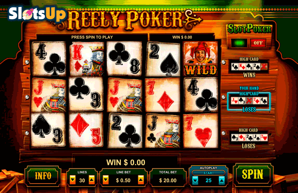 free poker slot play