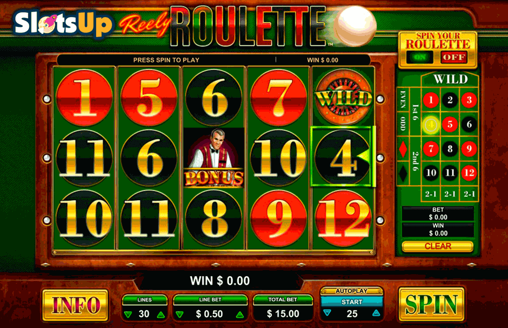 online casino roulette video slots