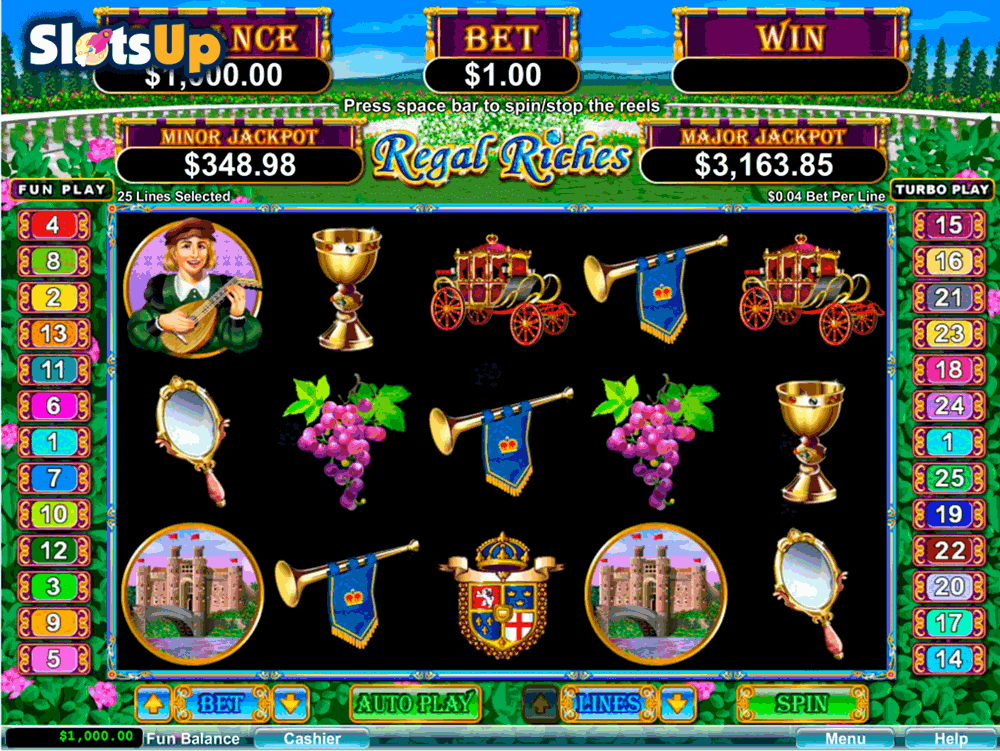 regal riches rtg casino slots