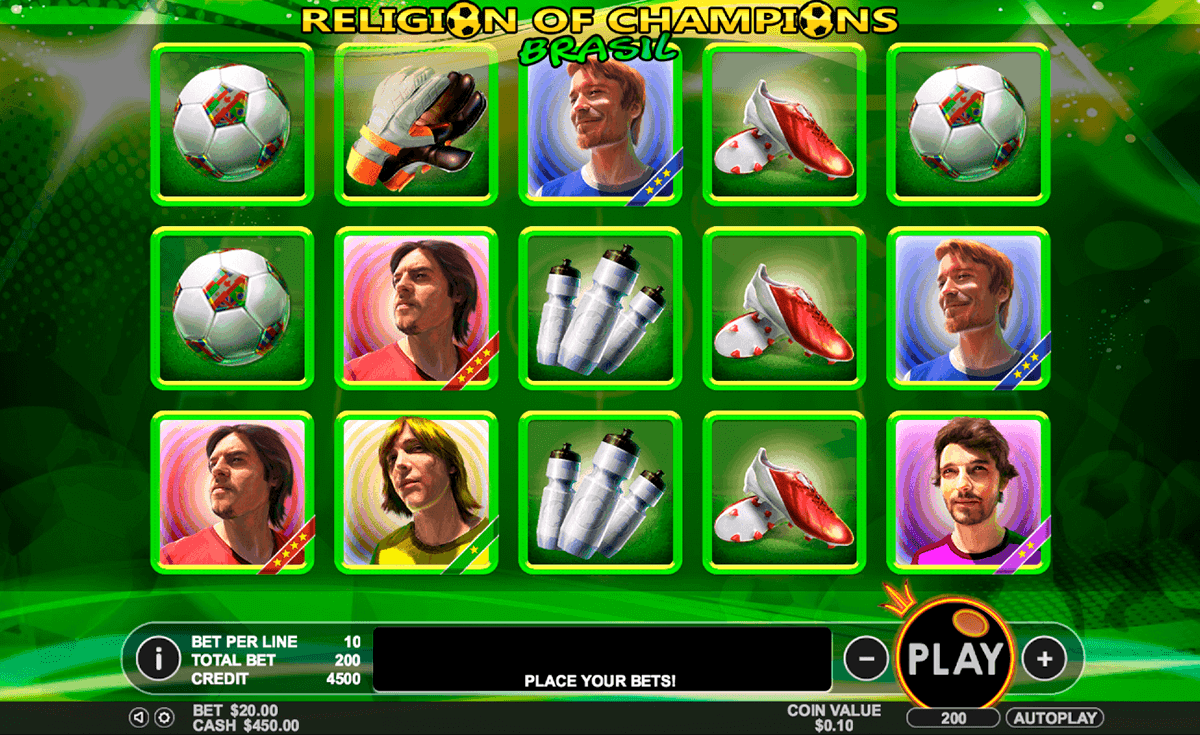 Religion of Champions Slot Machine Online ᐈ Pragmatic Play™ Casino Slots