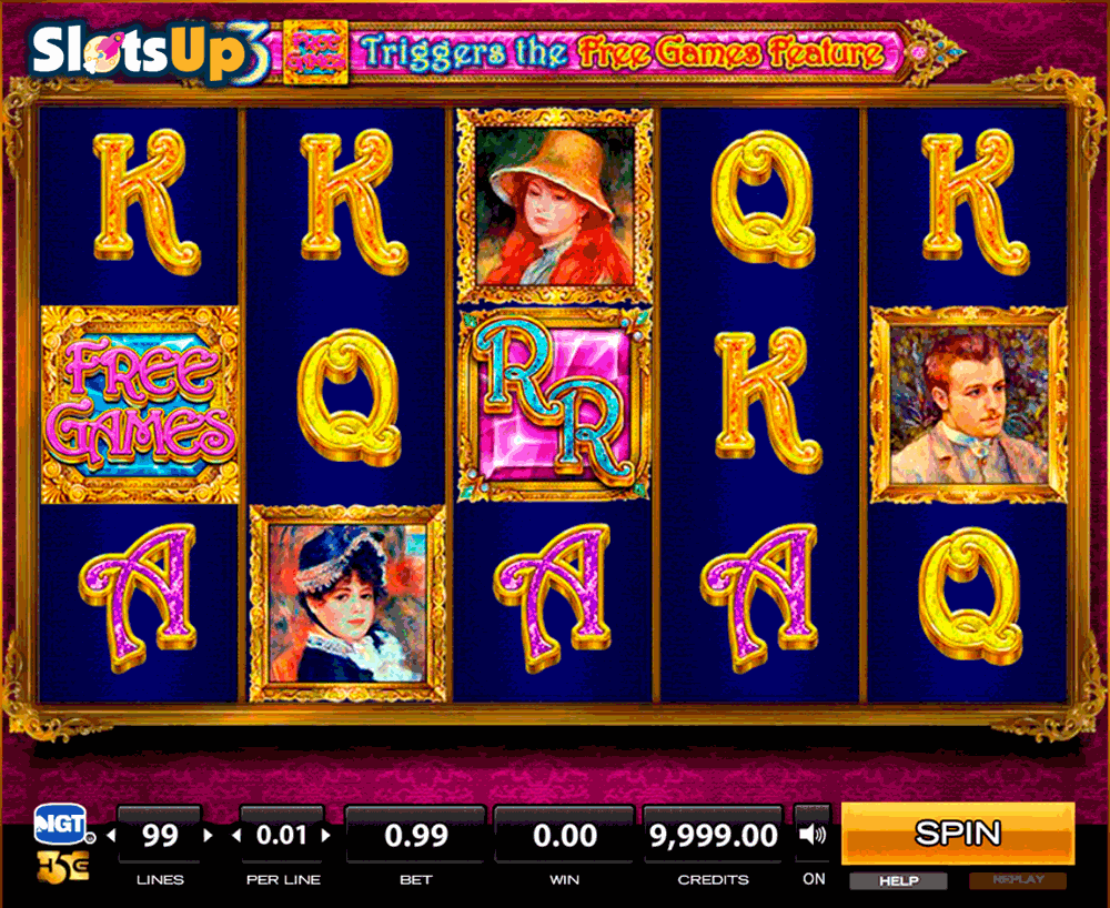 Renoir Riches™ Slot Machine Game to Play Free in IGTs Online Casinos