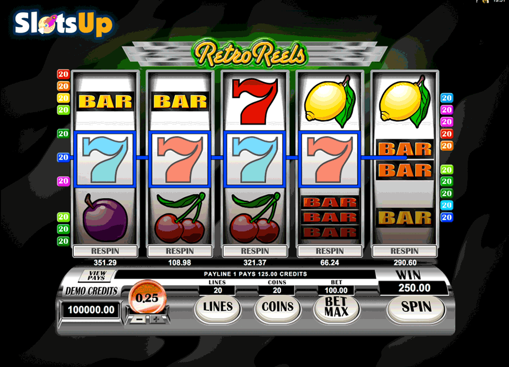 retroreels microgaming casino slots
