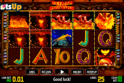 return of the phoenix hd world match casino slots