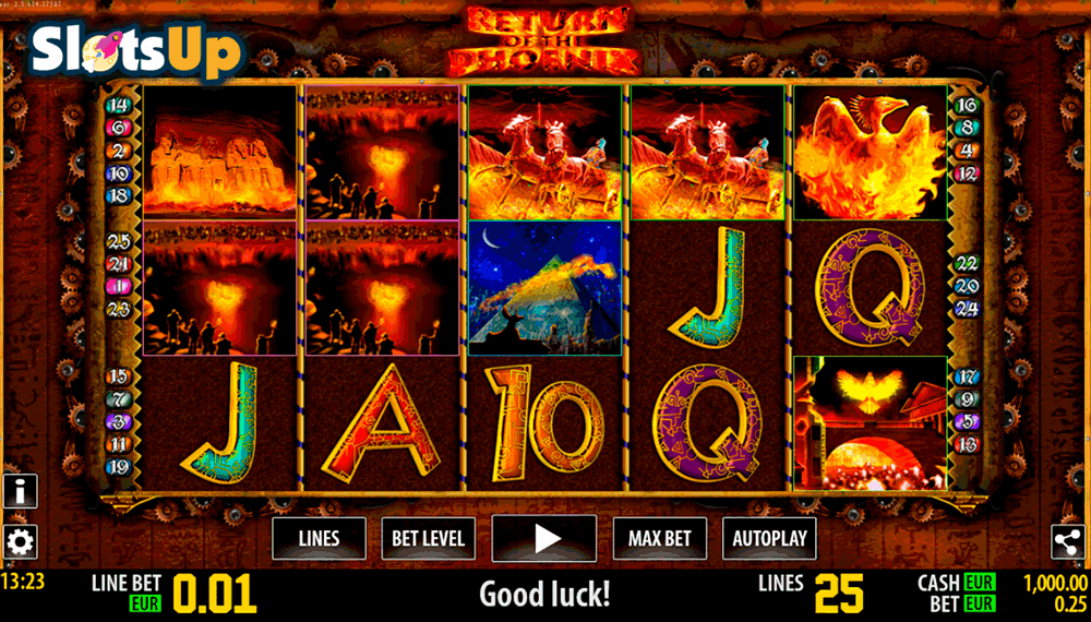 Return of the Phoenix HD Slot Machine Online ᐈ World Match™ Casino Slots