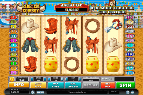 ride em cowboy habanero slot machine
