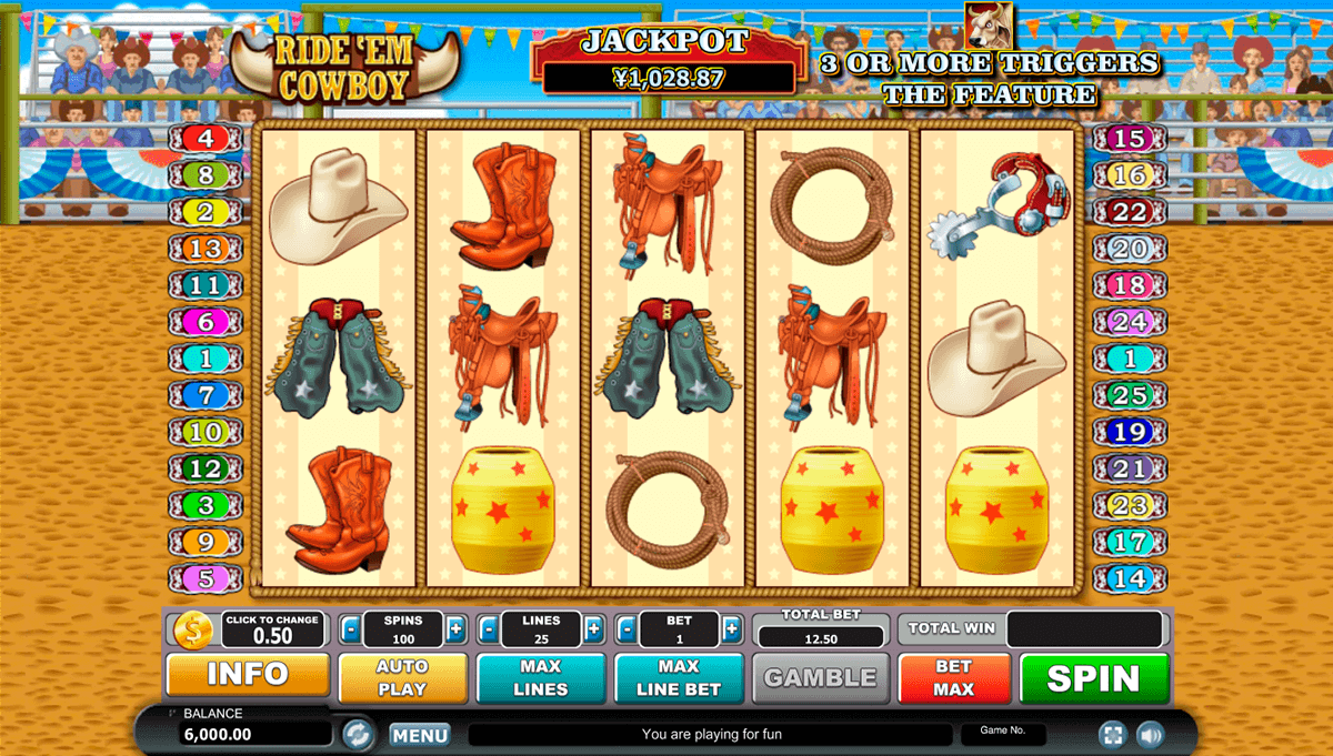 Spiele Ride Em Cowboy - Video Slots Online