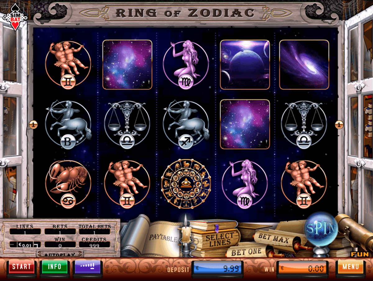 Zodiac Slot Machine - Play Now for Free or Real Money