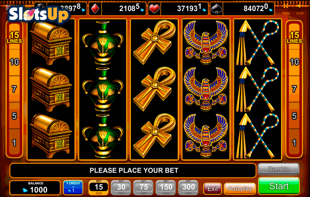 play online casino slots bool of ra