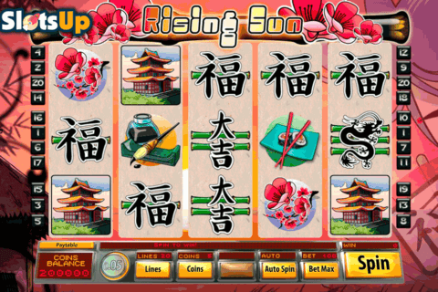 rising sun saucify casino slots