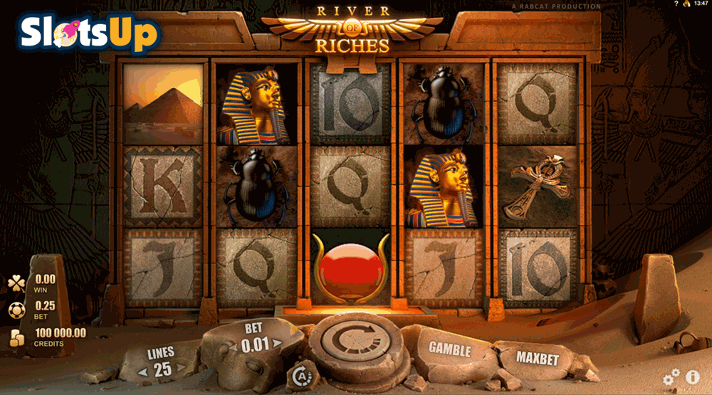 RIVER OF RICHES RABCAT CASINO SLOTS