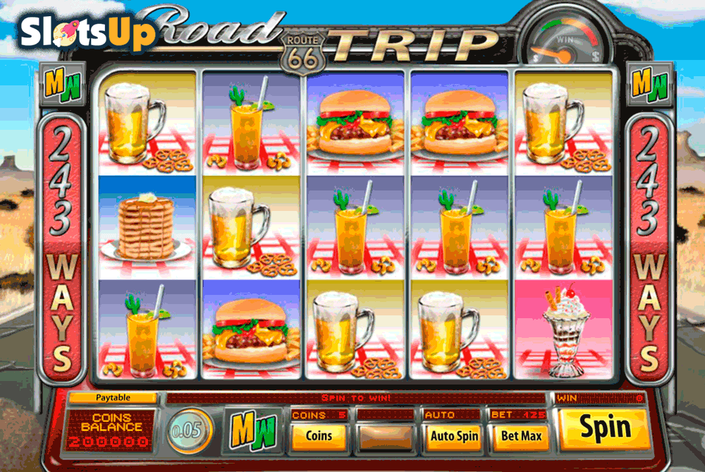 Road Trip™ Slot Machine Game to Play Free in Saucifys Online Casinos