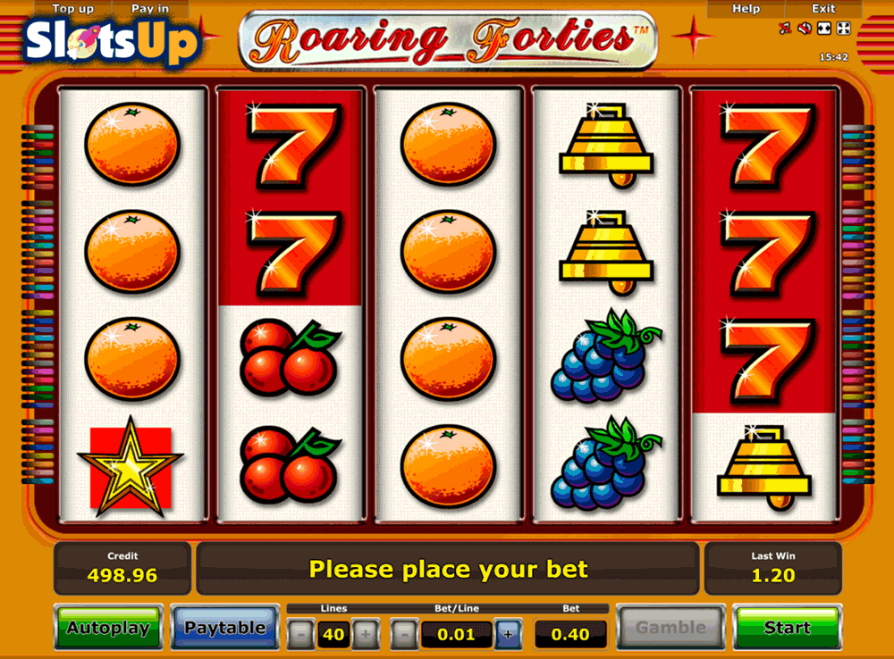 Play Roaring Forties™ Slot Game Online | OVO Casino