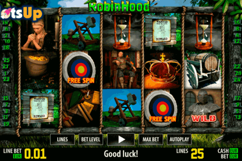 ROBIN HOOD HD WORLD MATCH CASINO SLOTS