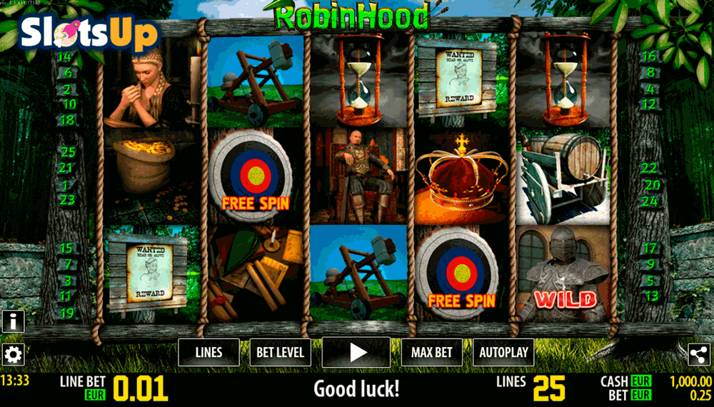 Robin hood slot machine online
