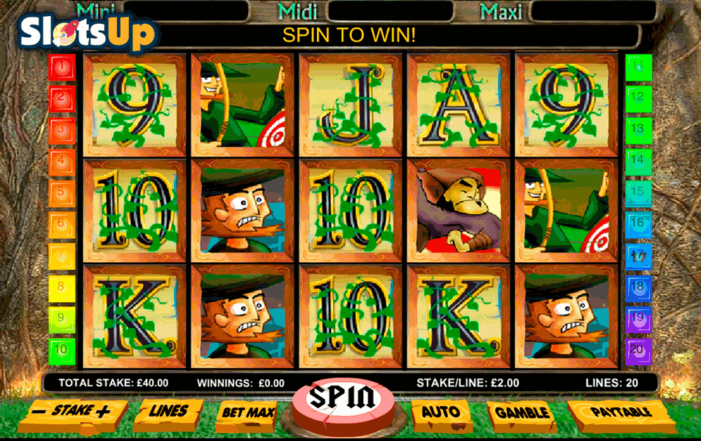 Lady Robin Hood Online Slots for Real Money - Rizk Casino