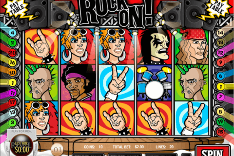 rock on rival casino slots