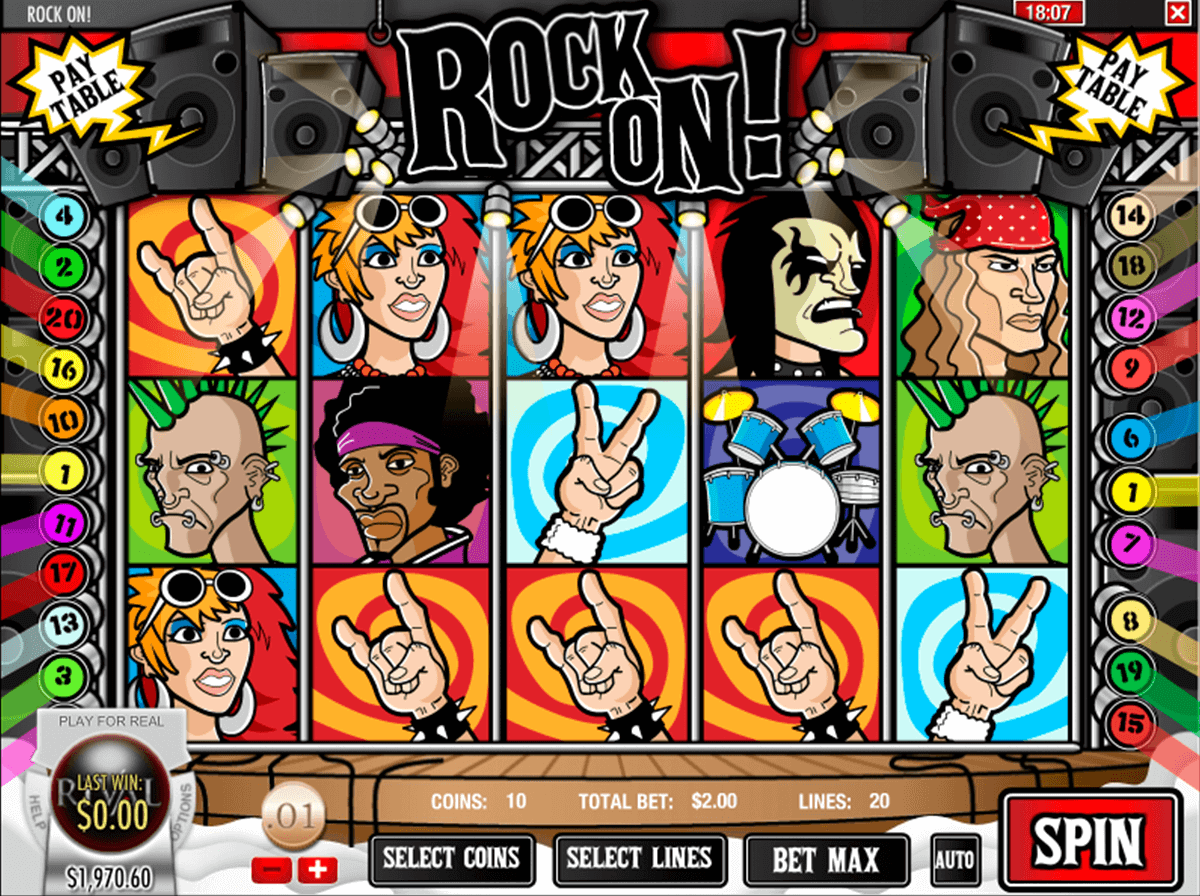 Reels Of Rock™ Slot Machine Game to Play Free in Saucifys Online Casinos