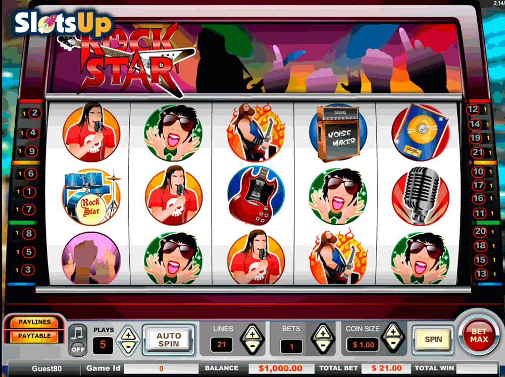 Rock Star Slot Machine Online ᐈ Vista Gaming™ Casino Slots