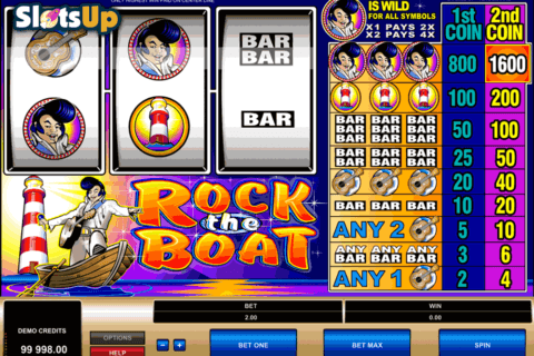 rock the boat microgaming casino slots