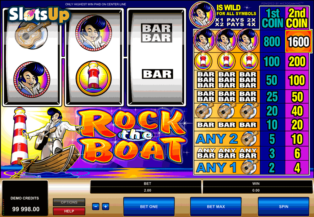 Rock The Boat™ Slot Machine Game to Play Free in Microgamings Online Casinos